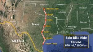 Oklahoma City corpus christi map