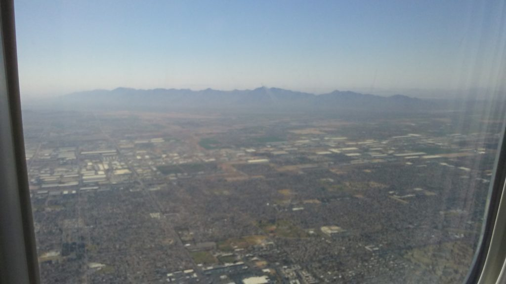 Mountains to East of Phoenix