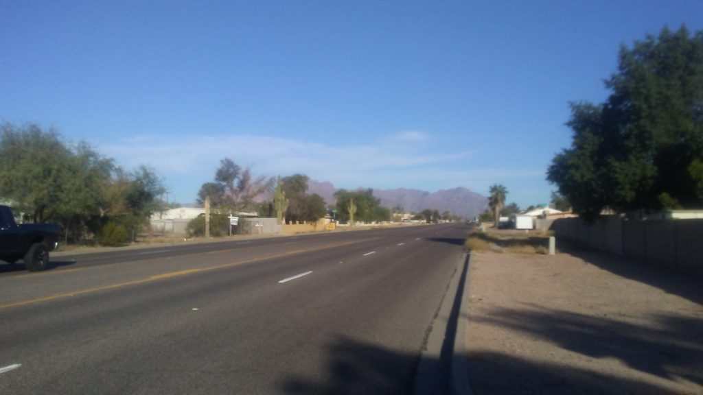 Apache Junction Mountain view